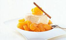 mandarin pannacotta