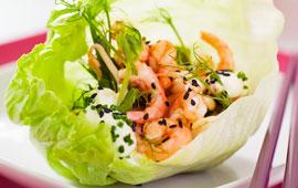 wasabi räkor