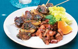 shish kebab spett
