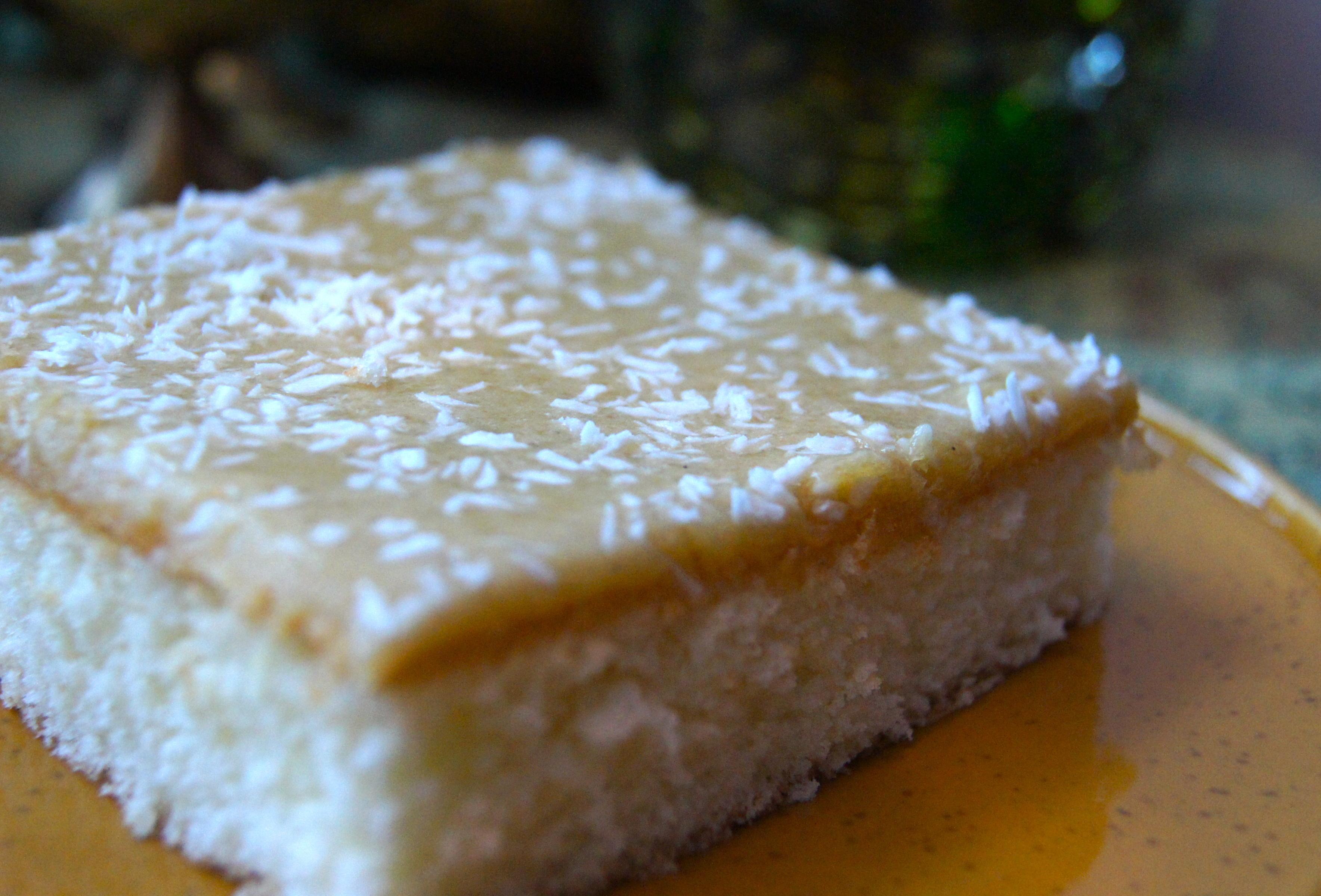 glutenfri kaka i långpanna