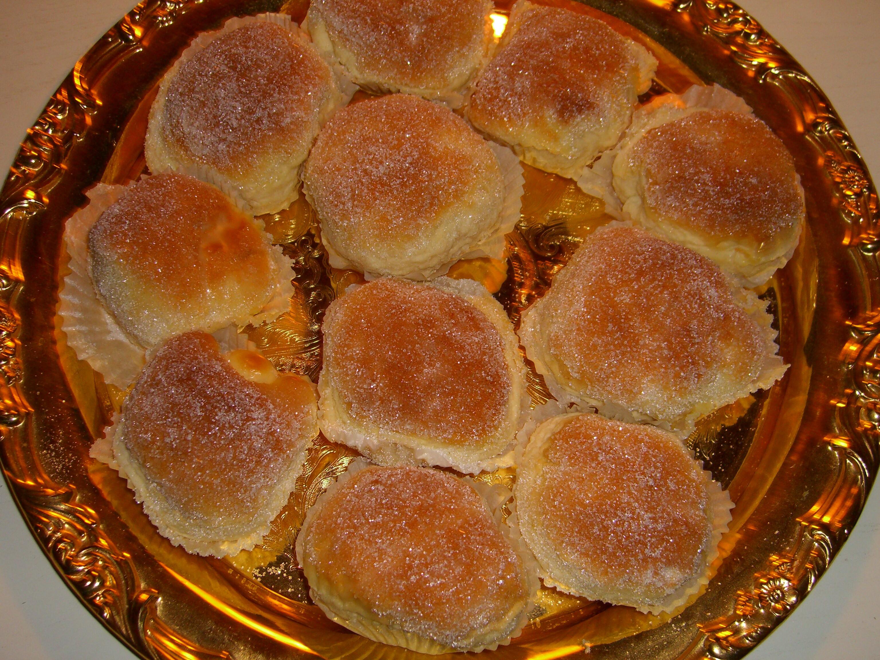 baka kakor med äggula