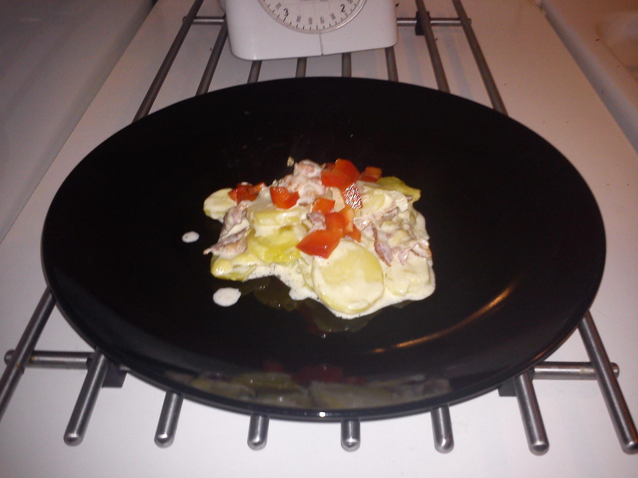 krämig potatisgratäng utan ost