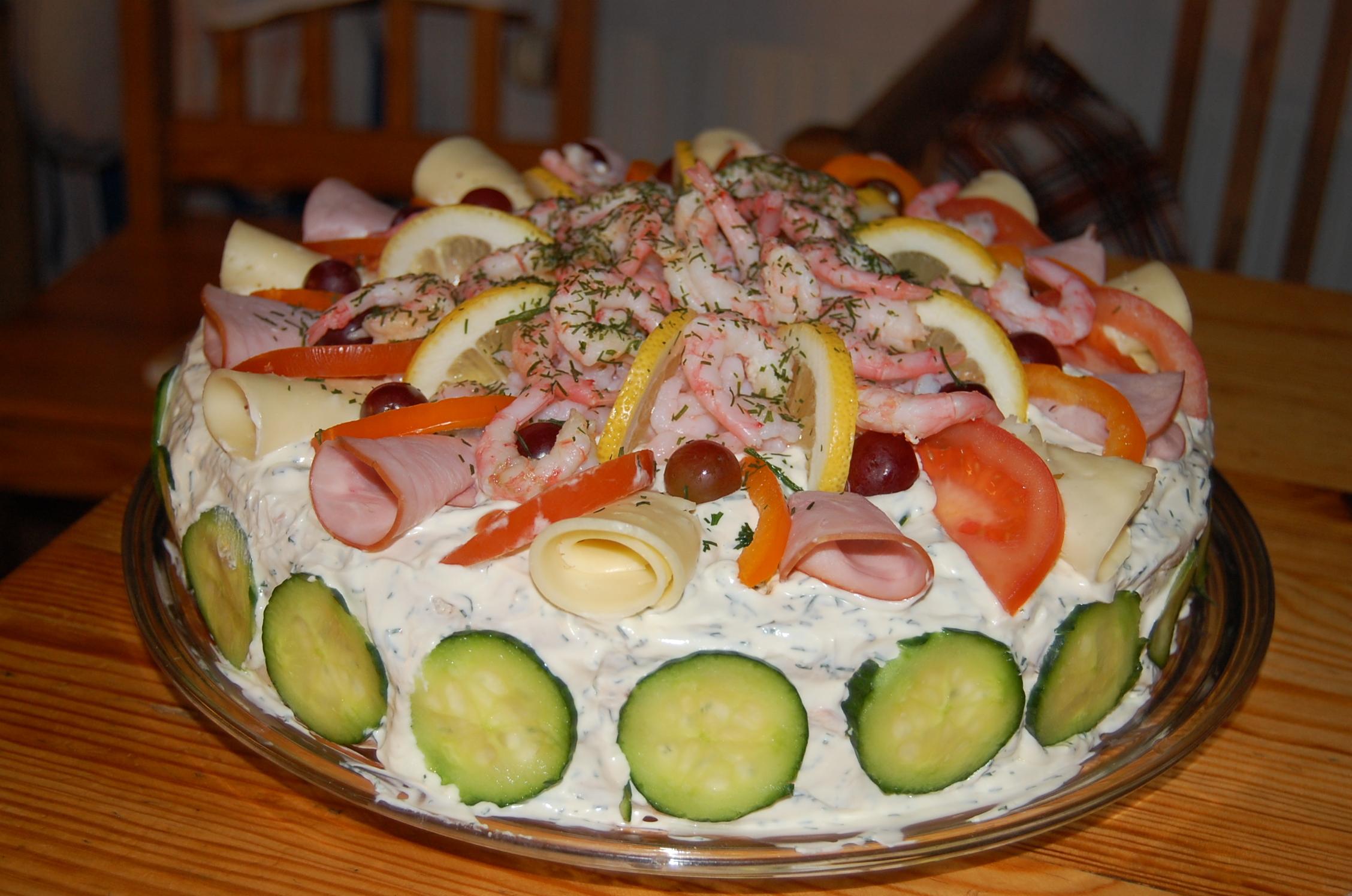smörgåstårta hönökaka tonfisk