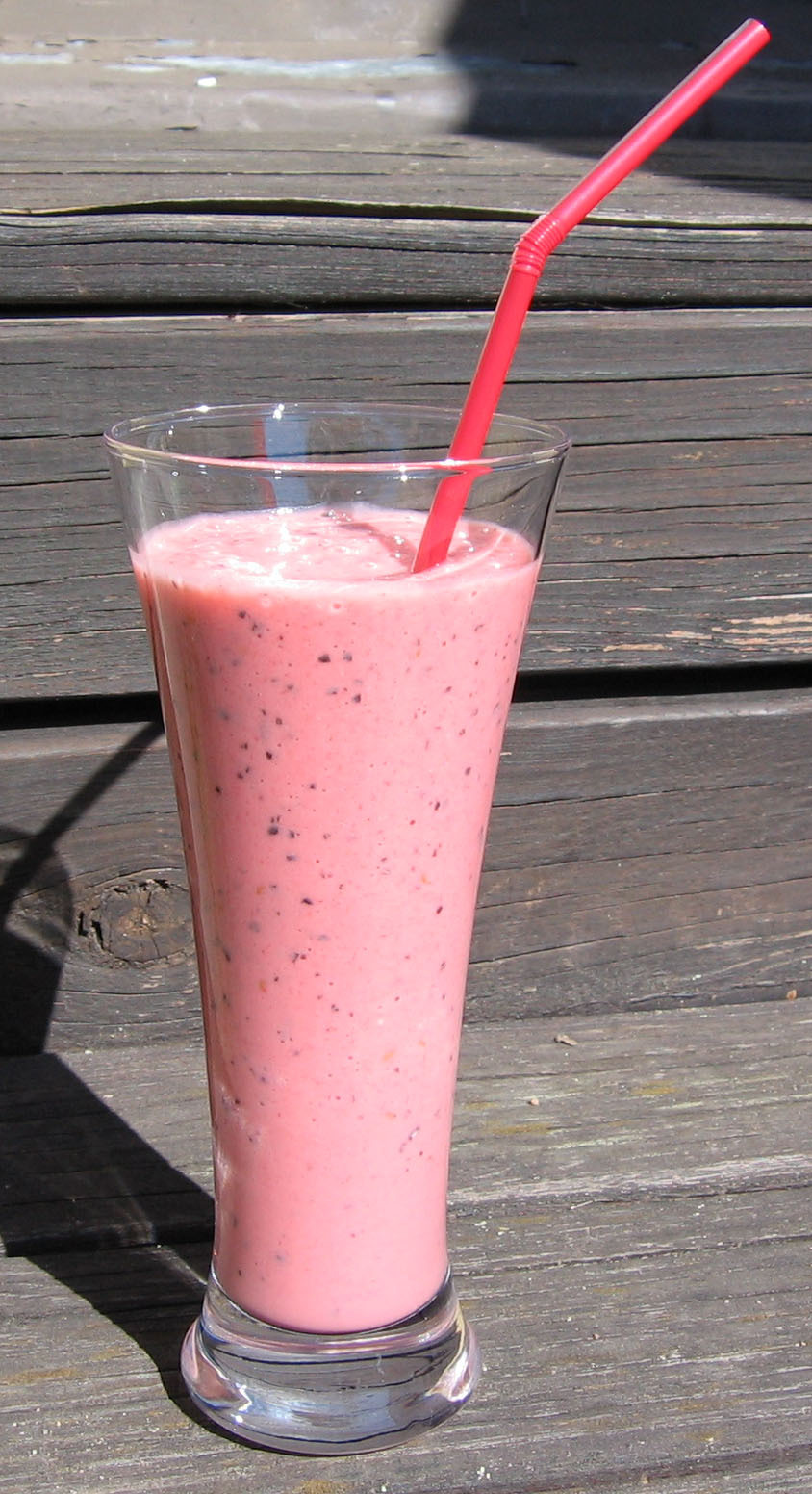 smoothie banan passionsfrukt