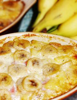 kassler ananas banan curry
