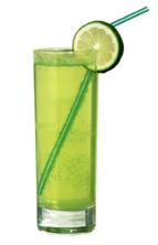 fruktig vodka drink