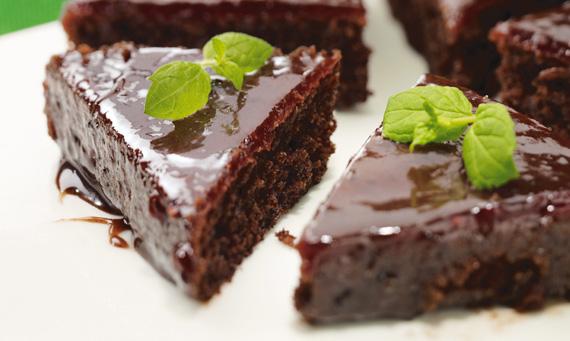 choklad kake muffins