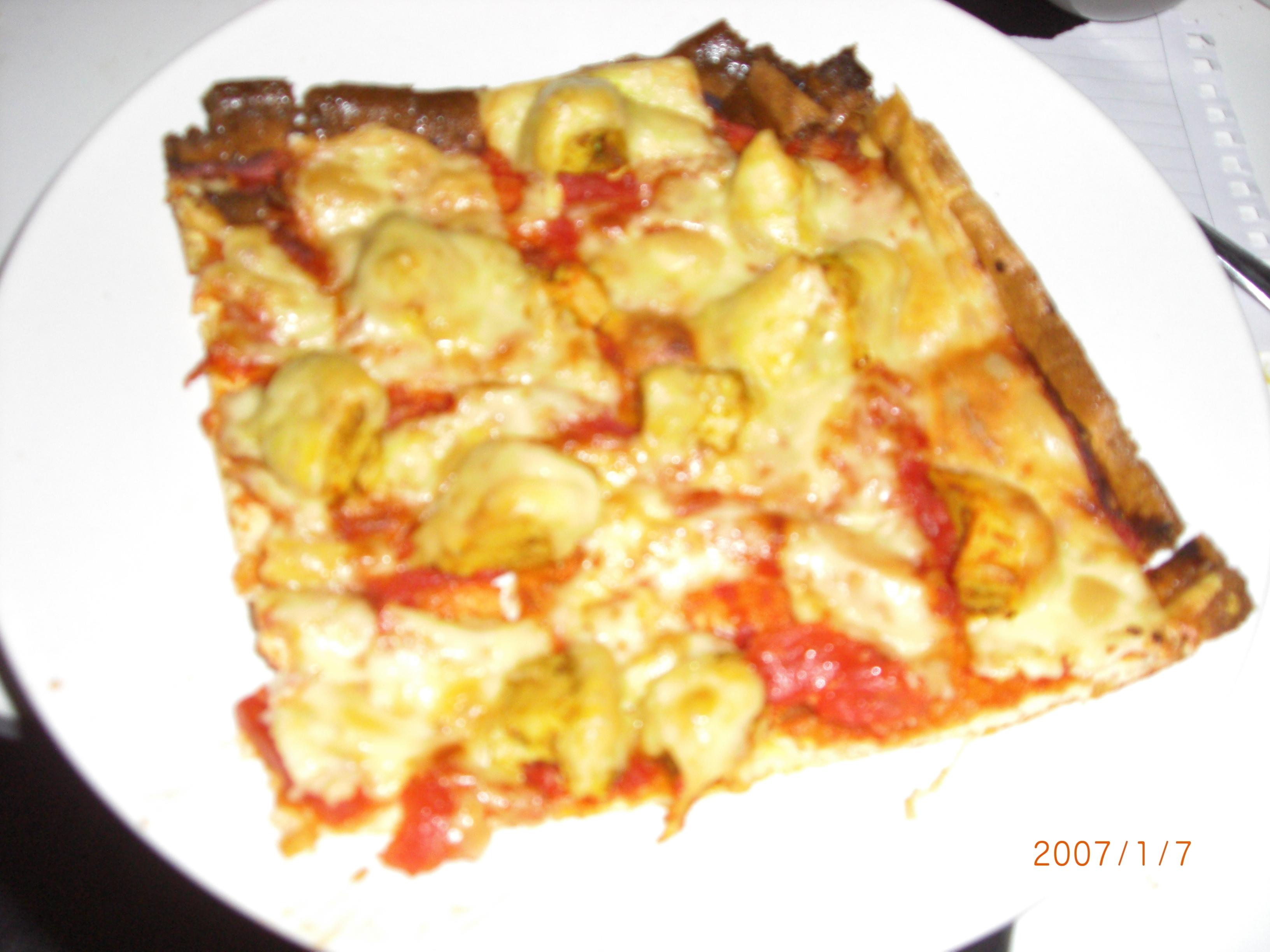 gott tillbehör till pizza