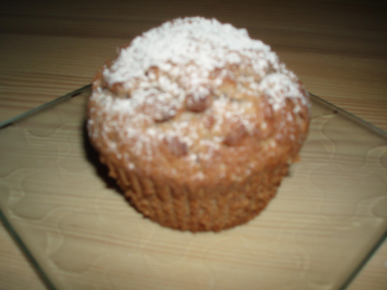 pepparkaksmuffins med lingonsylt