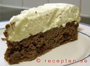 glasskräm tårta