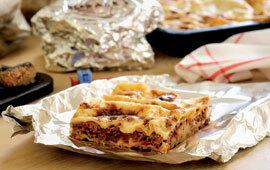 1 portion lasagne