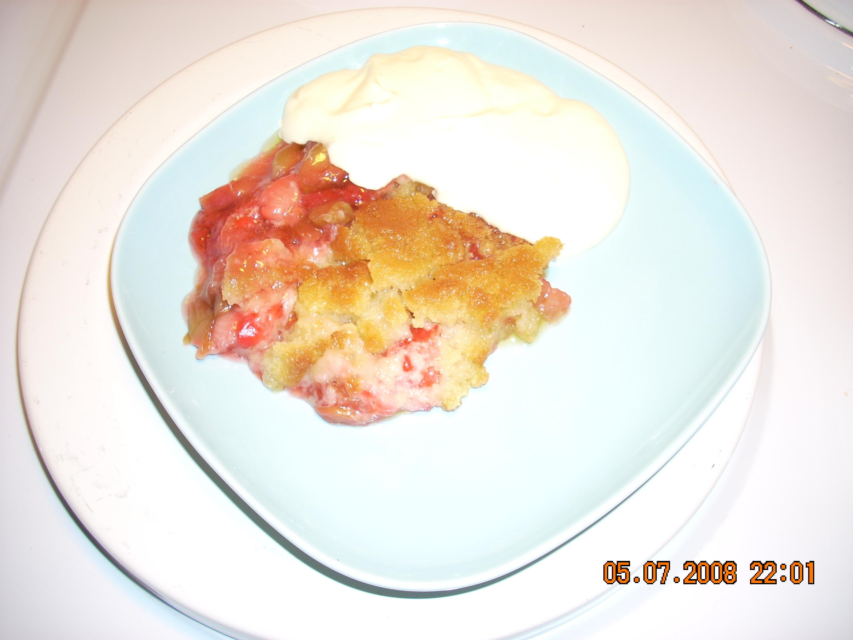 knäckig jordgubbspaj