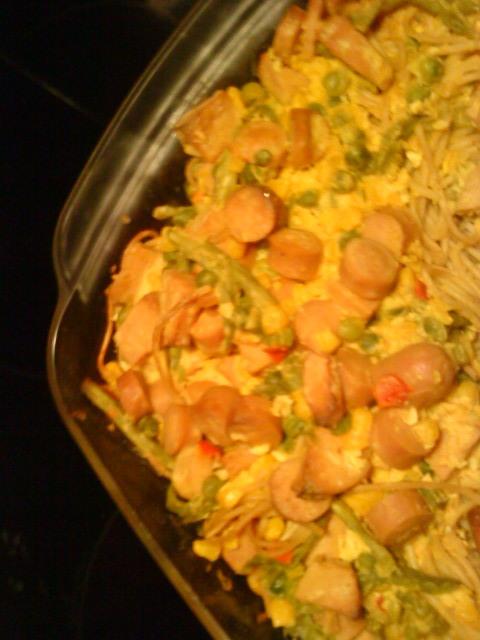 curry korv stroganoff