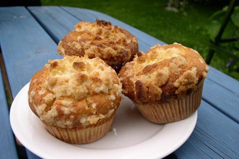 dumle kola muffins