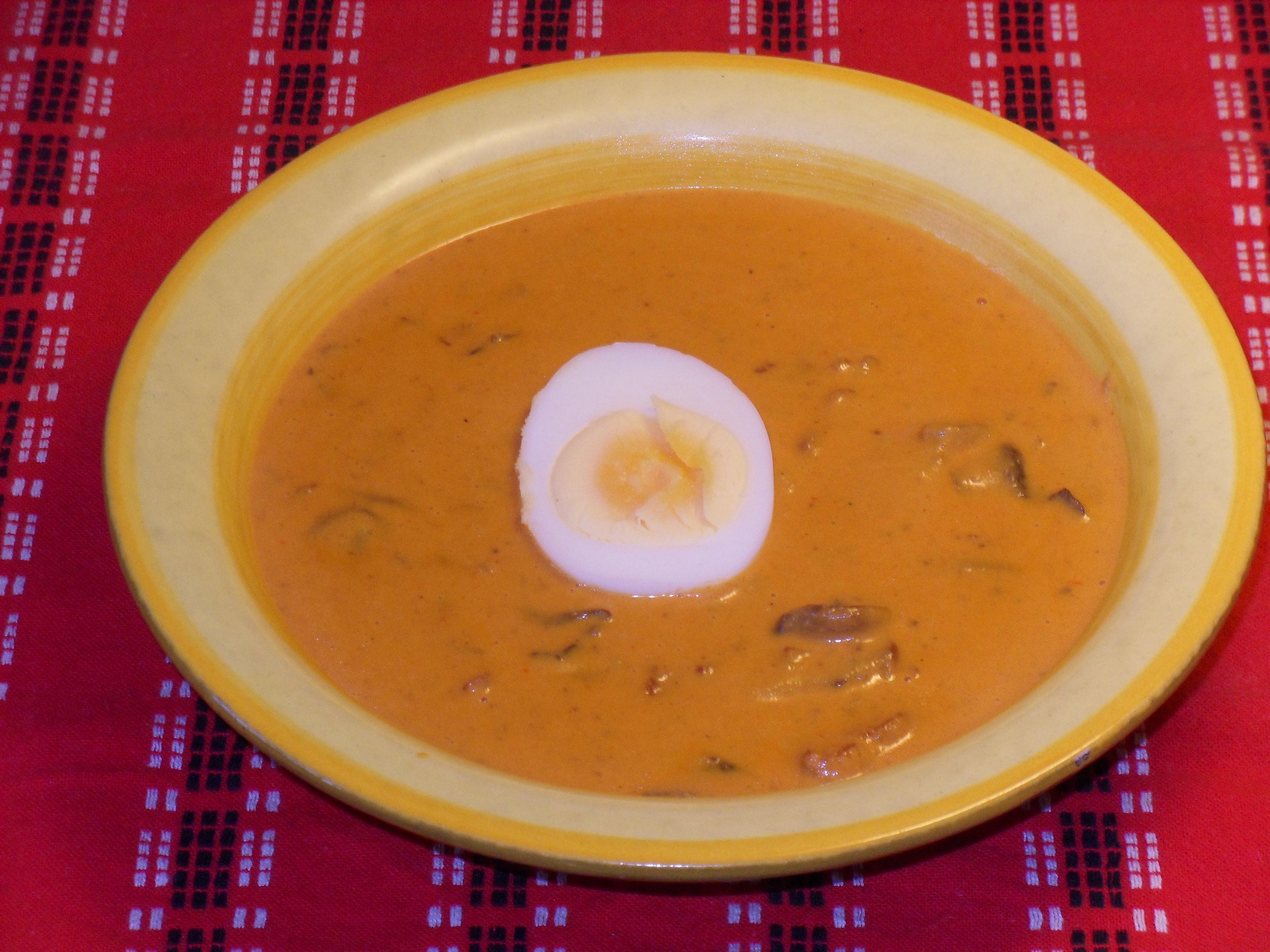svamp soppa utan grädde