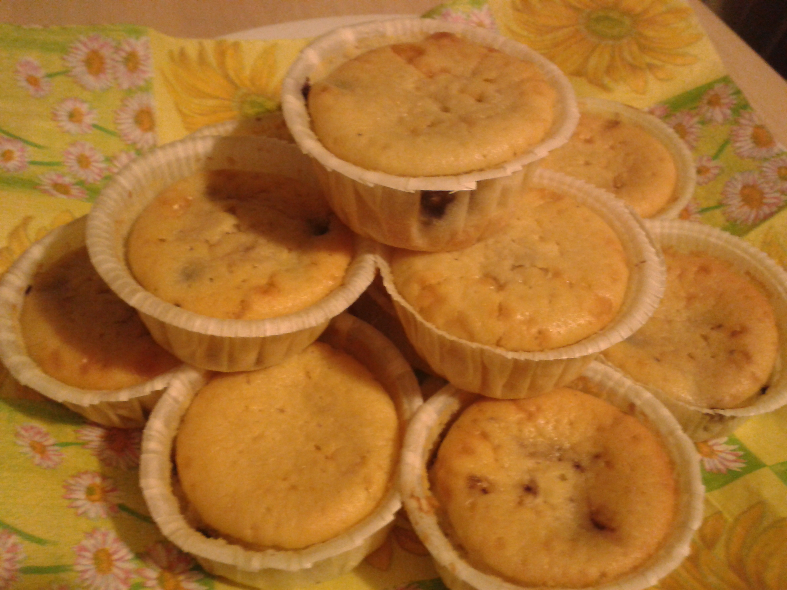 amerikanska muffins vanilj