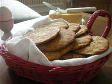 glutenfritt bröd med bakpulver