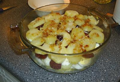 potatisgratäng med gräddfil