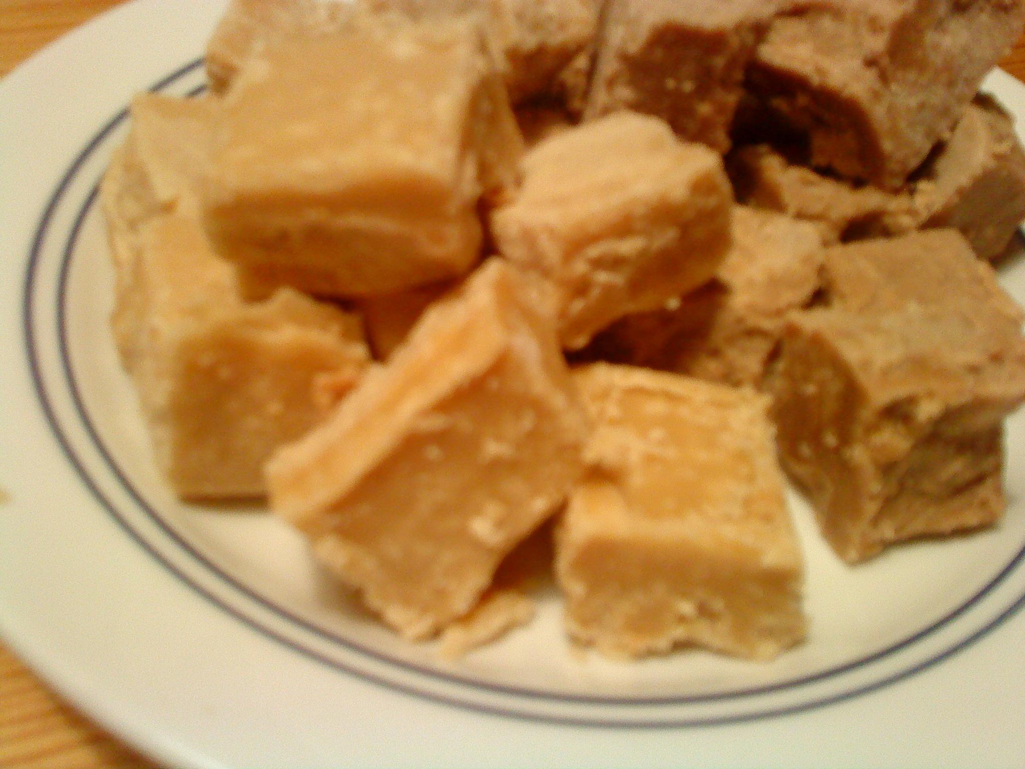 vit choklad lime fudge