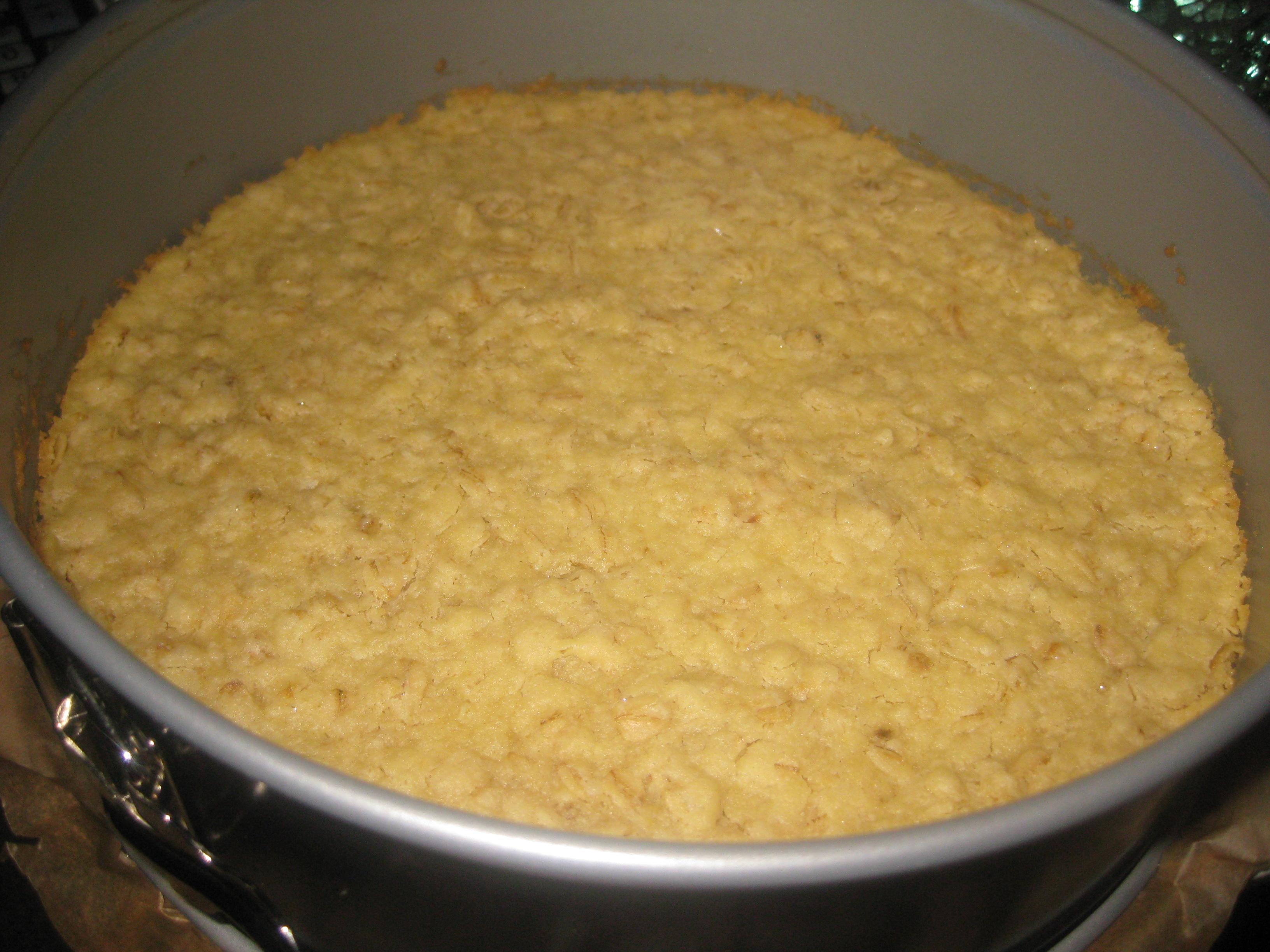 cheesecake med digestivebotten