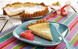 enkel cheesecake med kvarg