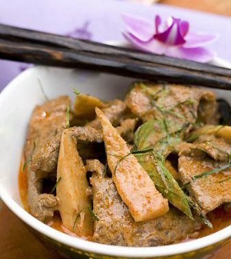 thaigryta med kött