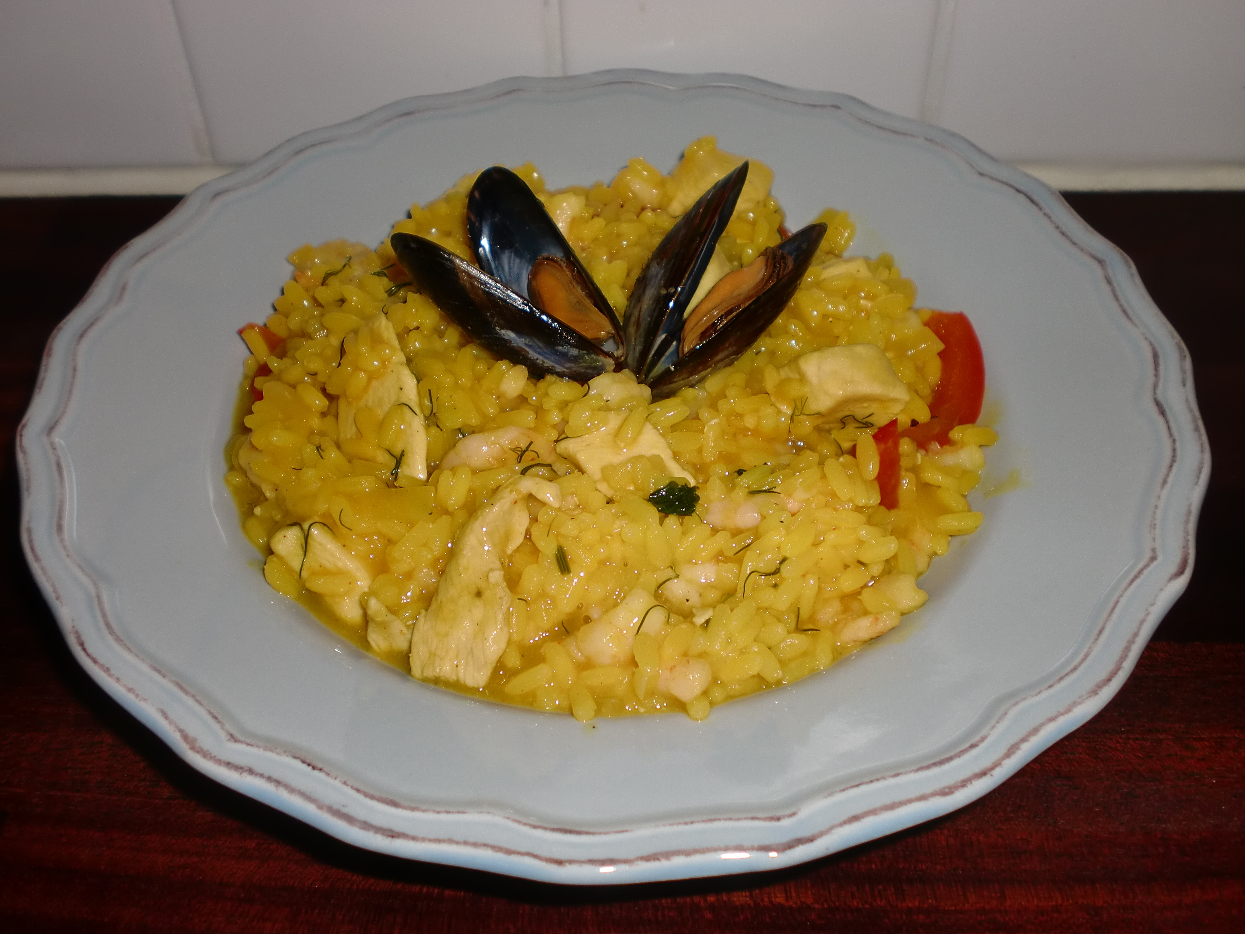 risotto med vanligt ris