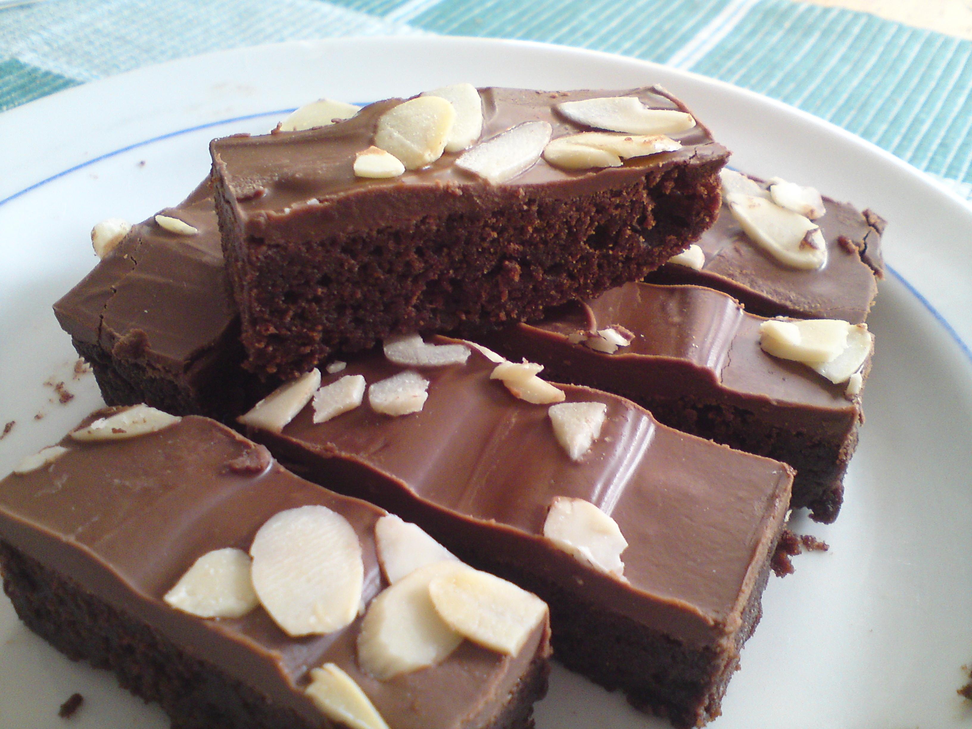chokladkaka i långpanna