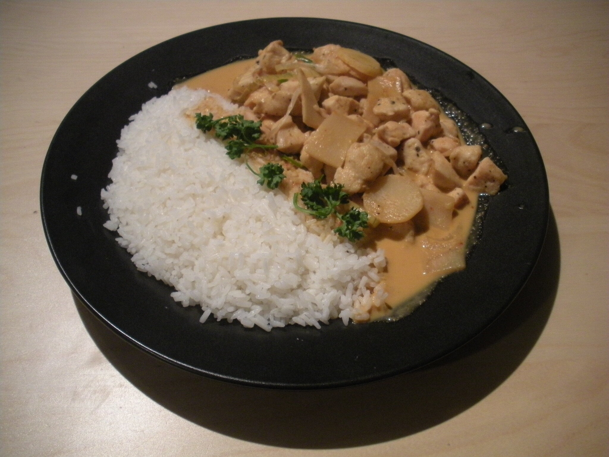 kyckling thai gul curry