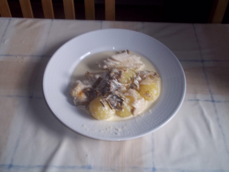 gösfilé i ugn med grädde
