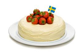 vit chokladtryffel tårta