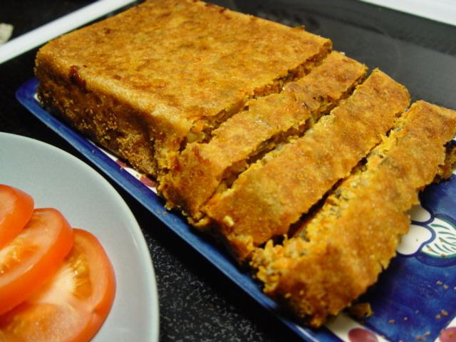 köttfärslimpa utan ströbröd