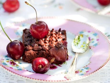 långpannekaka med nutella