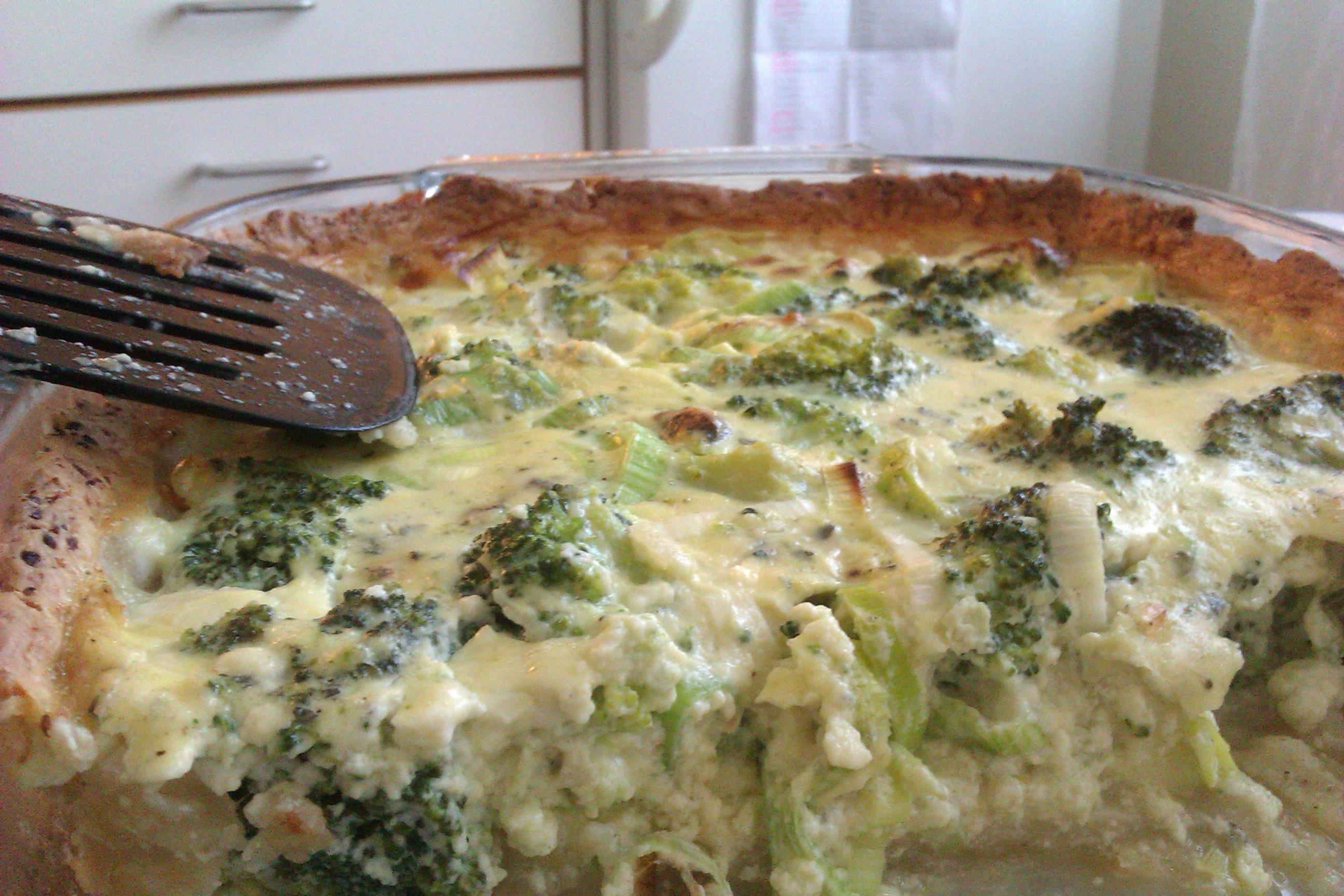 nyttig broccolipaj