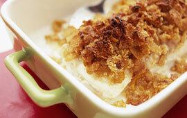 cornflakesfisk i ugn
