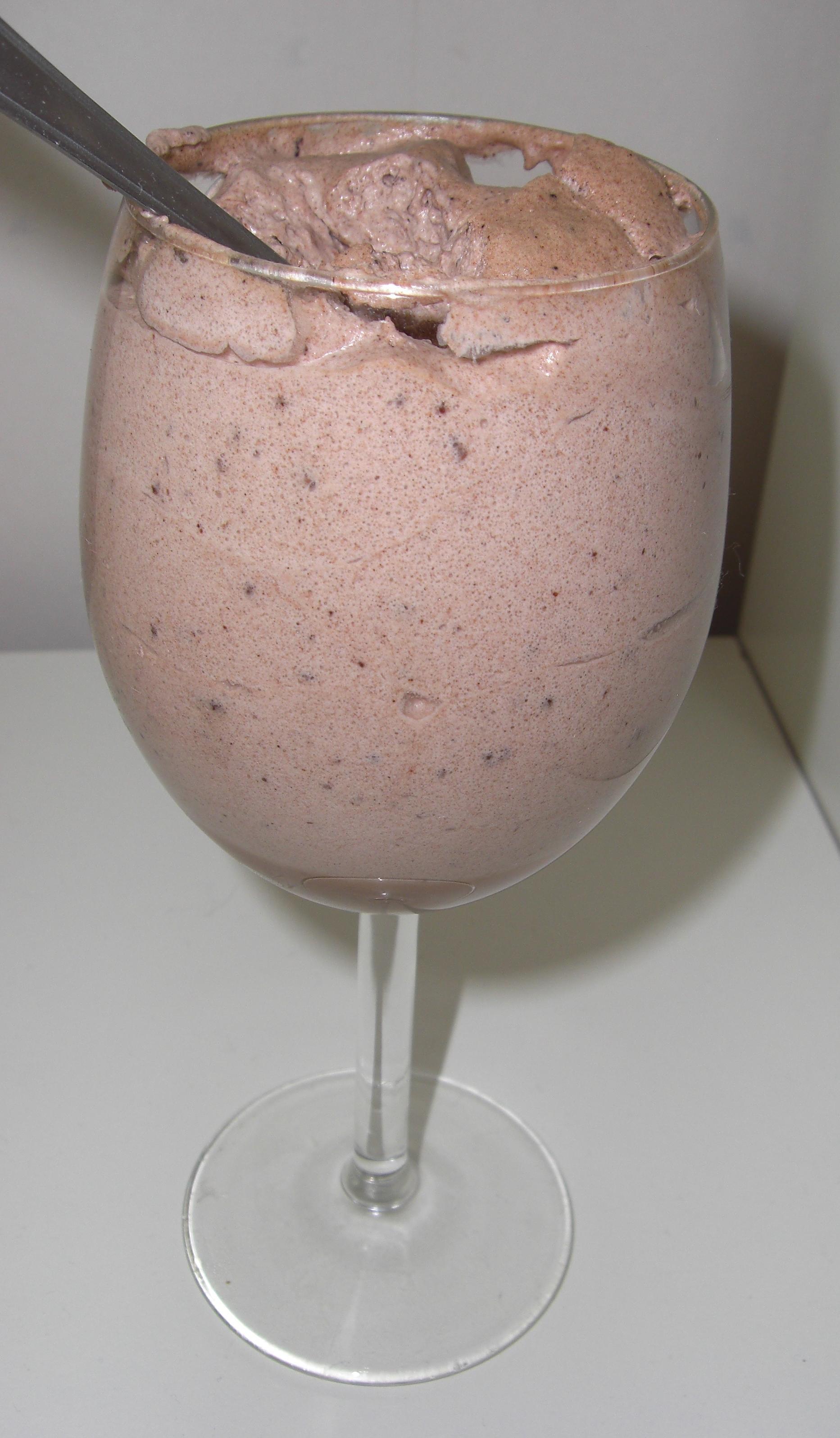 choklad smoothie med kakao