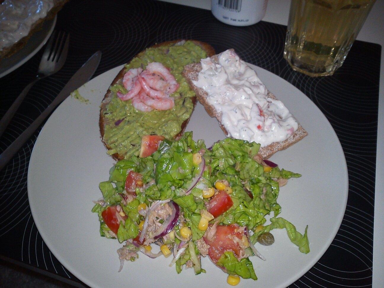 tonfisksallad enkel