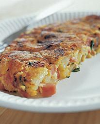 korv omelett i ugn