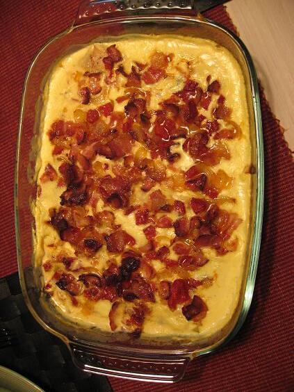 fläskfilé bacon purjolök curry
