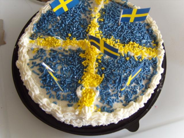 sverige tårta
