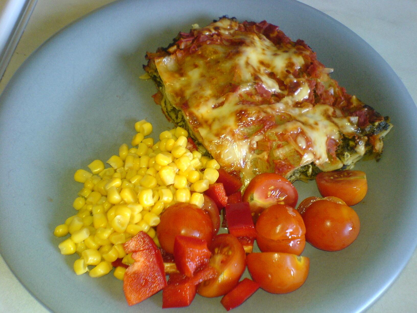 enkel lättlagad lasagne