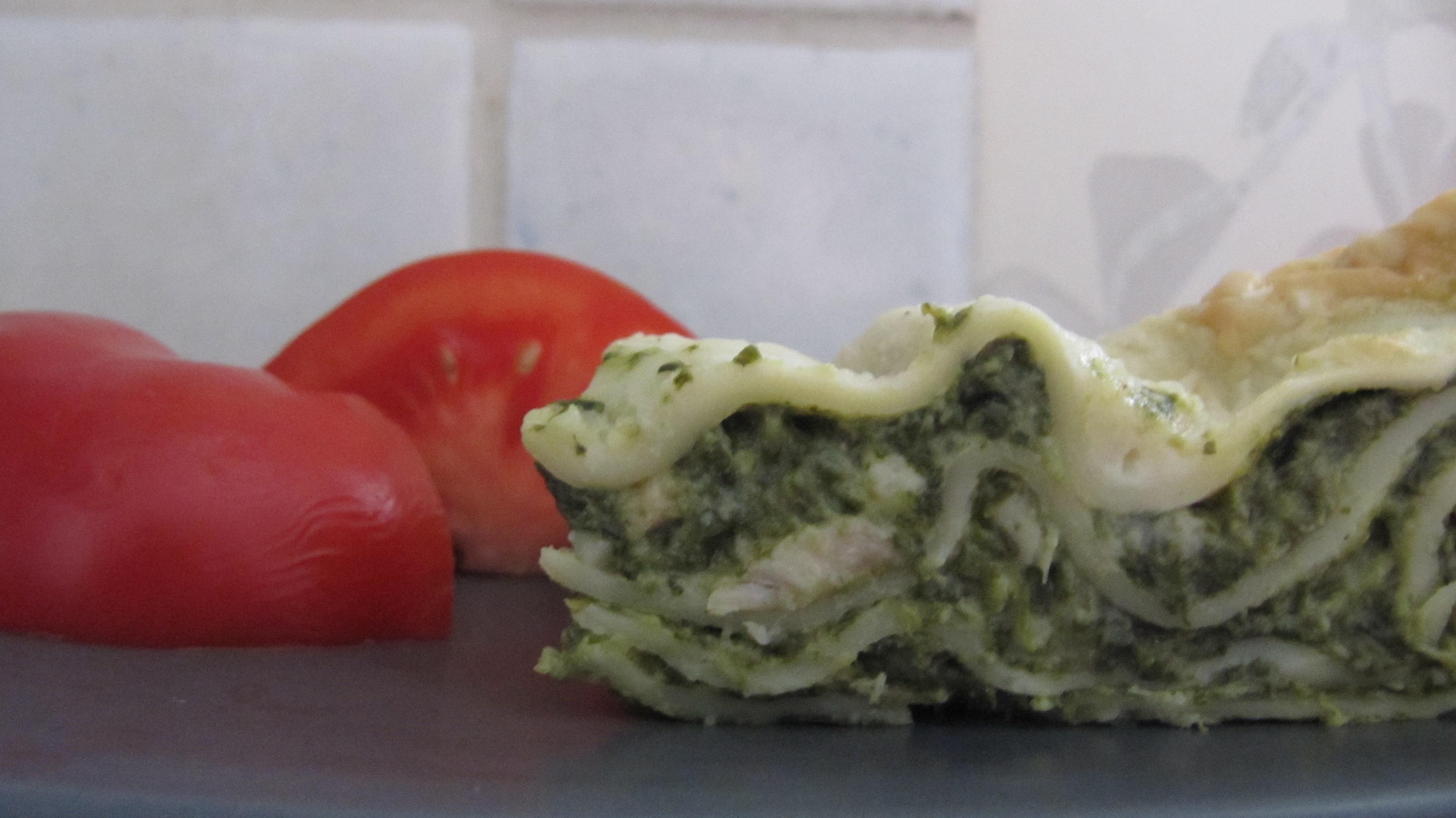 lasagne med gorgonzola