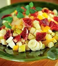 sockerlag till fruktsallad