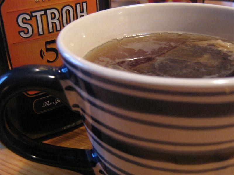 rom sprit och te