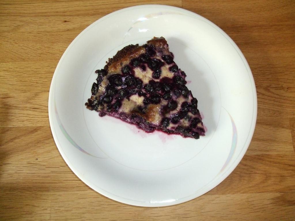 blåbärspaj med mandelmjöl