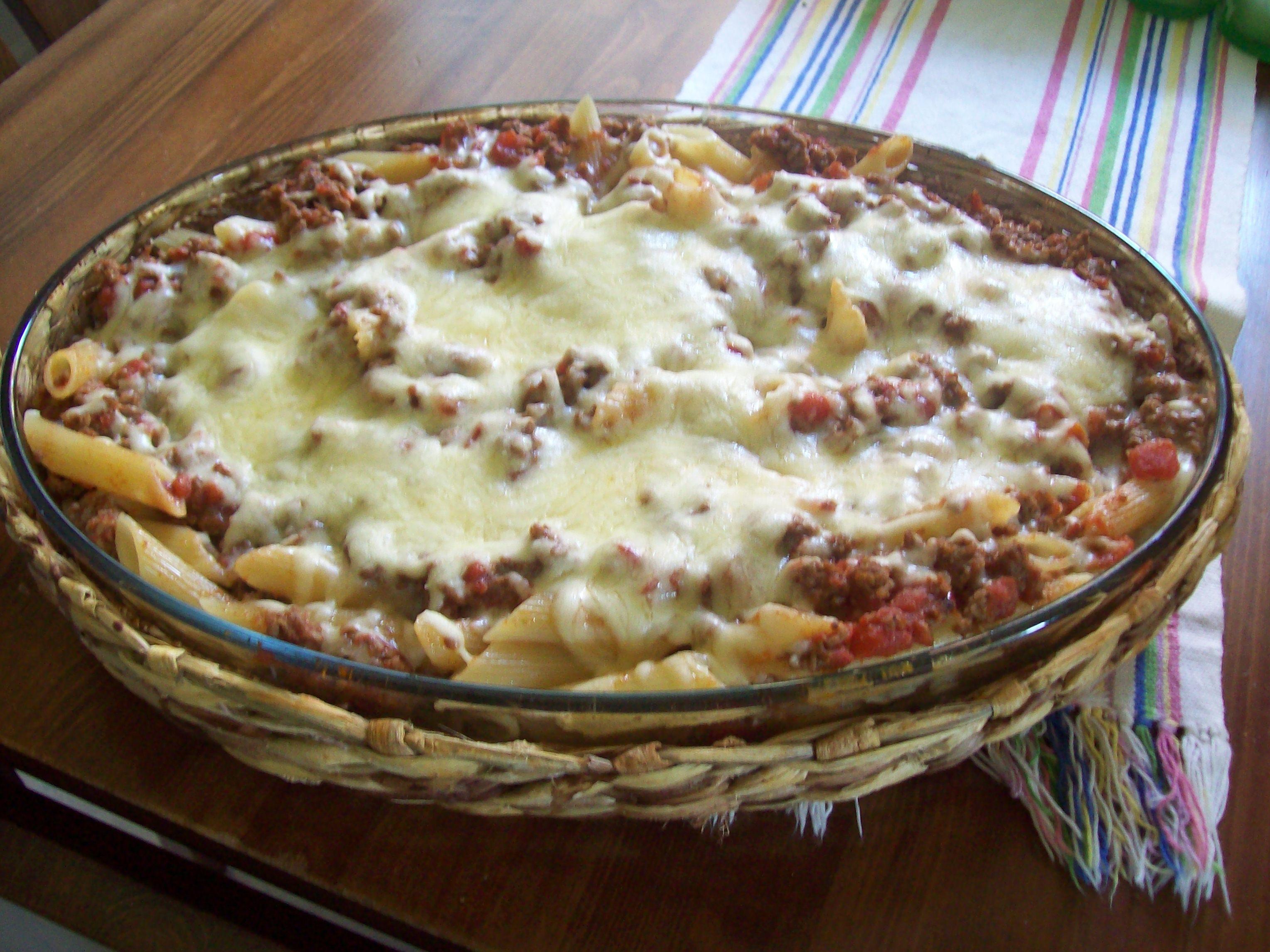 tacolåda med pasta