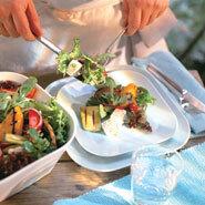 vinegrette till grekisk sallad