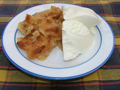 mormors äppelkaka med ströbröd