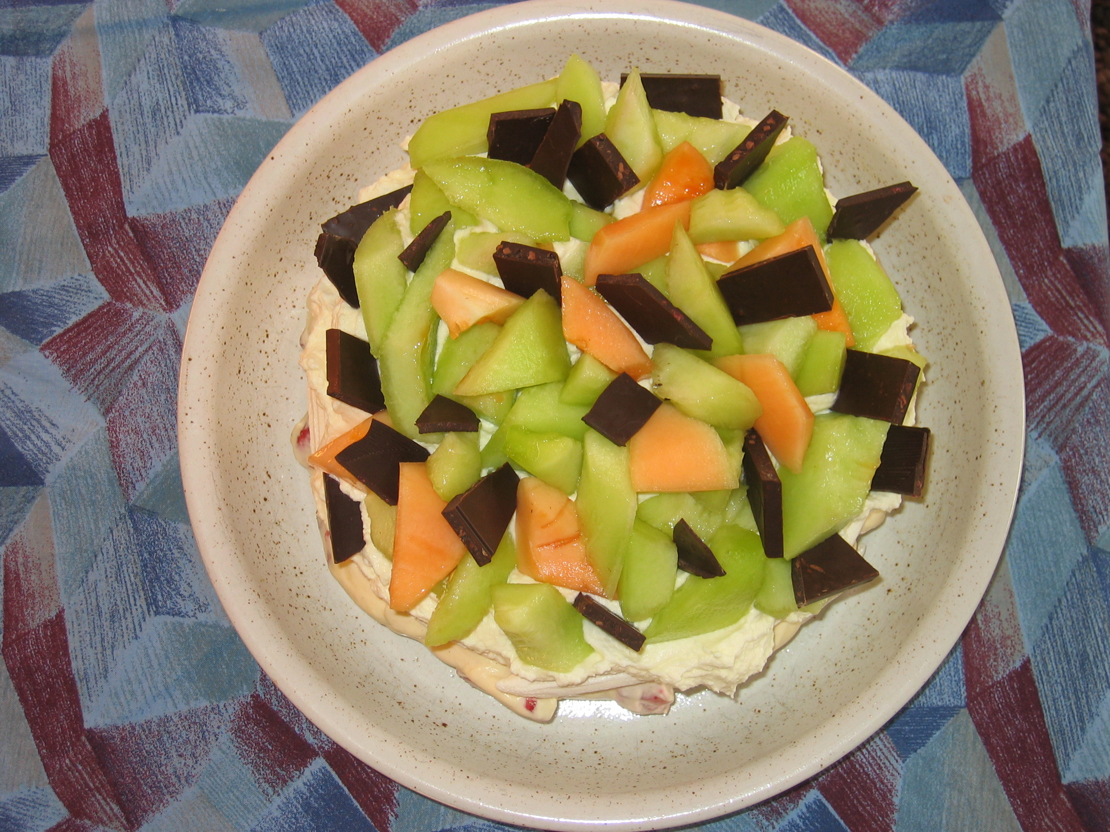 melon tårta
