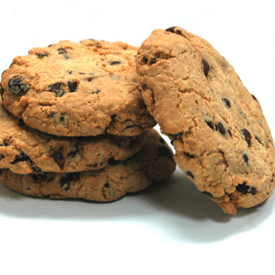 kladdiga chocolate chip cookies